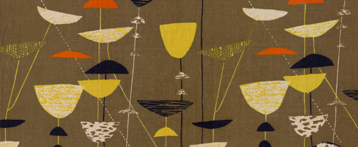 Modernist Textile Design:  Perfectly Patterned