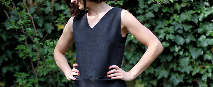 Sleeveless V-neck Dress Tutorial