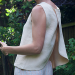 Split Back Linen Tank Tutorial