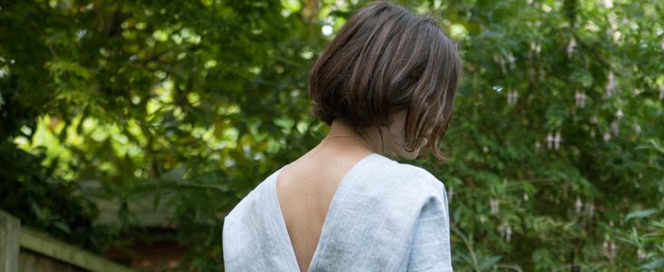 Linen Kaftan Dress Tutorial