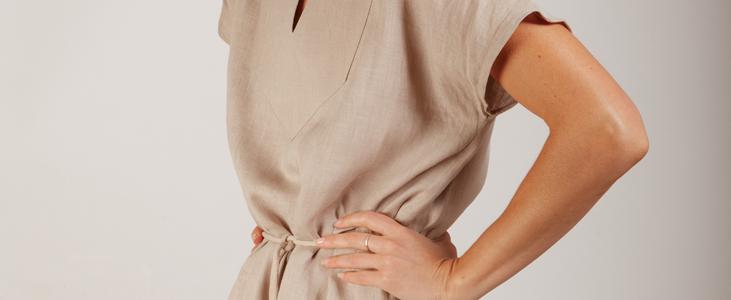 Linen Tunic With Tassel Belt Tutorial