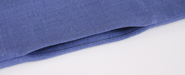 Sewing Glossary: How To Sew Inseam Pockets Tutorial