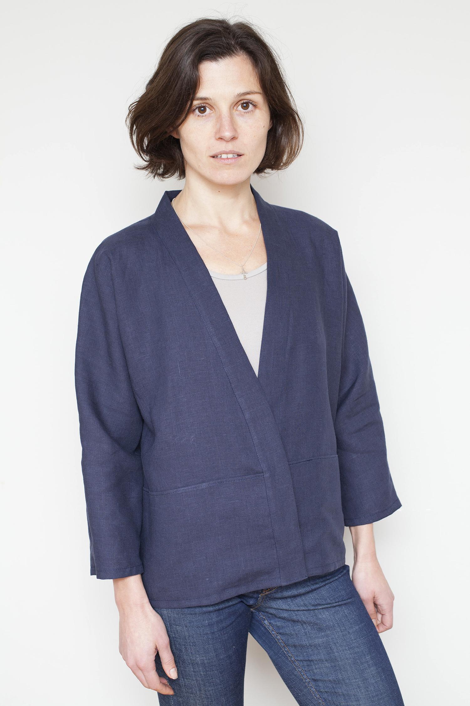 how to sew a kimono jacket tutorial. Black Bedroom Furniture Sets. Home Design Ideas