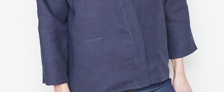 How to sew a Kimono Jacket Tutorial