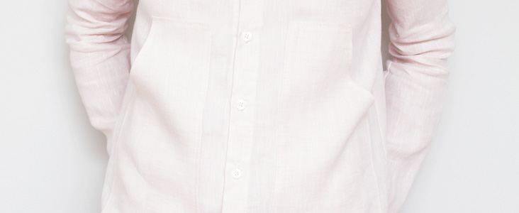 Crisp Linen Shirt Tutorial