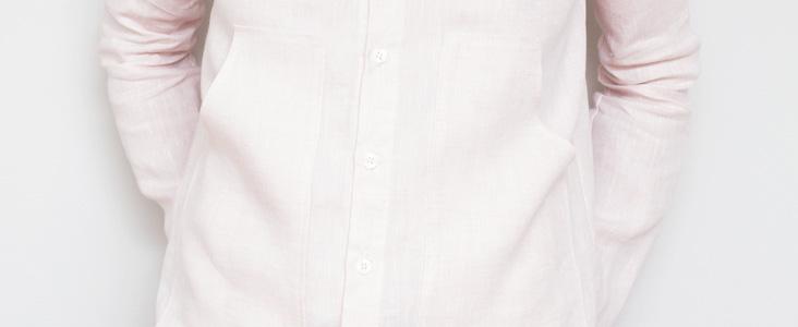 Crisp Linen Shirt Tutorial