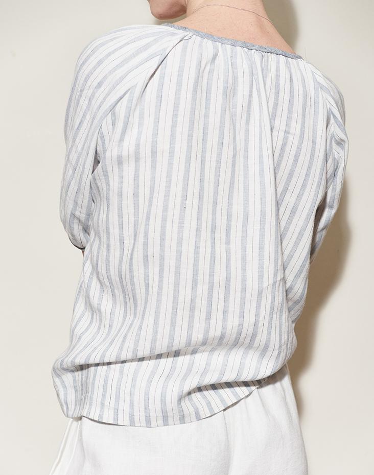 Linen Peasant Blouse Tutorial – Fabrics-Store.com – The Thread