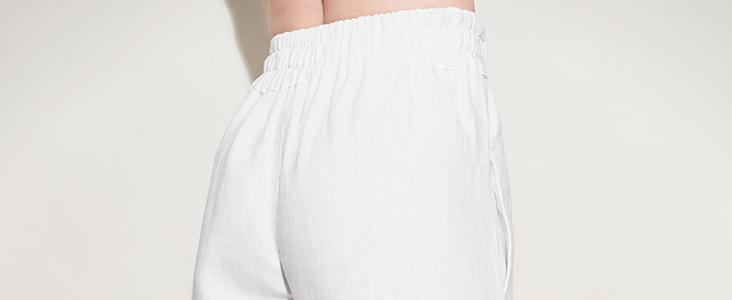 Crisp Linen Pants Tutorial
