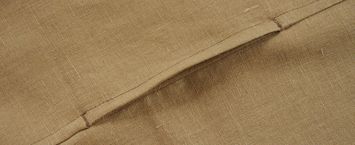 Sewing Glossary: How To Add Inseam Pockets To A Flat-felled Seam