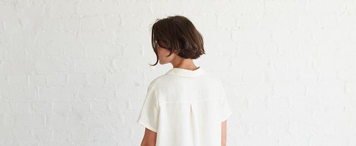 Linen Shirt Dress Tutorial