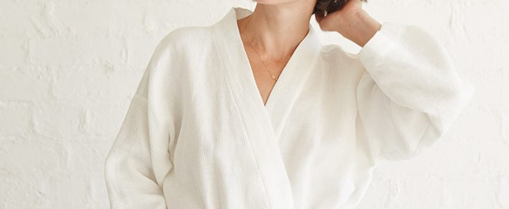 Relaxed Linen Bathrobe Tutorial