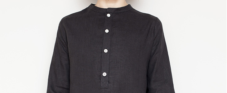 Partial Placket Shirt Dress Tutorial