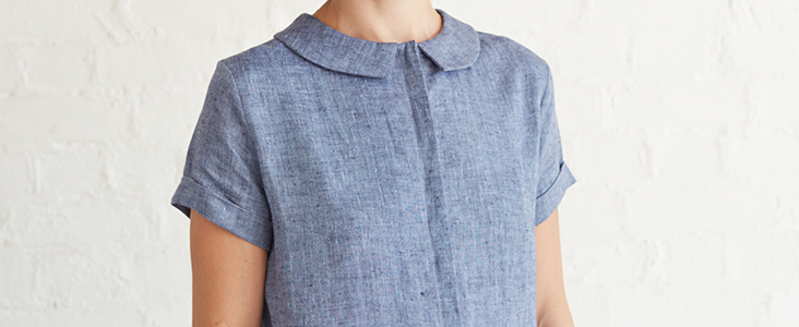 Sewing Glossary: How To Draft And Sew Concealed Button Bands