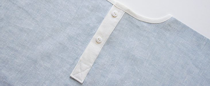 Sewing Glossary: How To Draft And Sew A Partial Button Placket The Easy Way