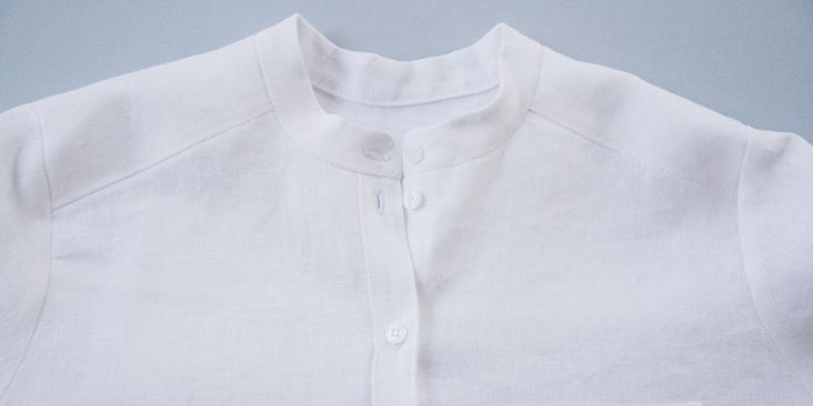 Linen Shirt with Buttons Linen Shirt Adrienne. Stonewashed Linen Shirt Long Sleeve Shirt Light Linen Shirt