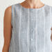 Pattern Hack: Turn a Simple Tank into a Button-Down Top Tutorial