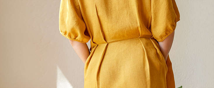 Knife Pleated Button Up Dress Tutorial