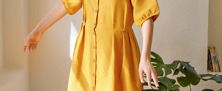 Sewing Glossary: How To Sew Knife Pleats Tutorial