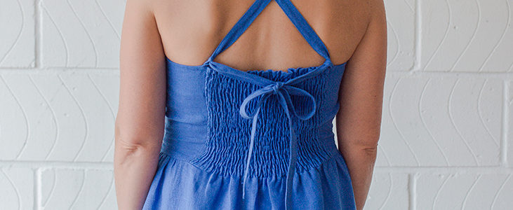 Sewing Glossary: Shirring With Elastic Thread
