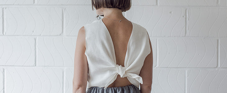 Fred Knotted Crop Top Tutorial