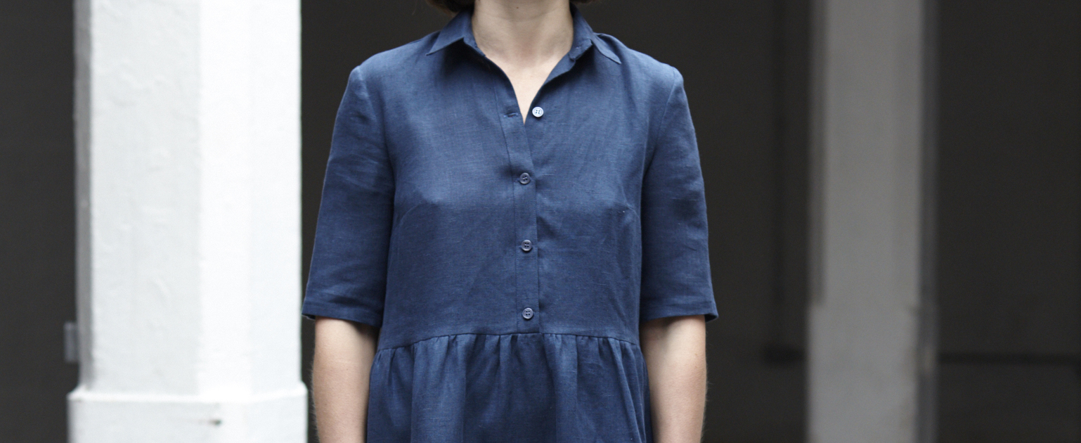 Avery Tiered Shirt Dress Tutorial