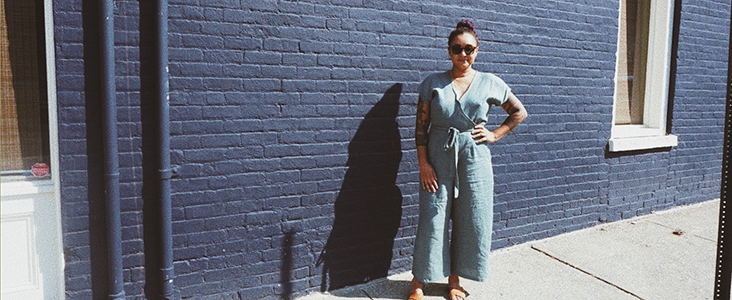 FS Curated by you: Raven Stralow aka Paloma Projects makes Paper Theory Zadie Jumpsuit